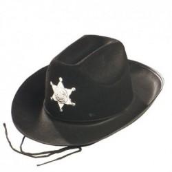 SOMBRERO SHERIF FIELTRO ADULTO