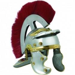 Casco romano metal cresta h15
