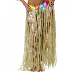 FALDA HAWAIANA FLORES
